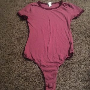 Bozzolo mauve body suit ( preowned)
